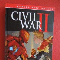 Cómics: CIVIL WAR II - BRIAN MICHAEL BENDIS - DAVID MARQUEZ - MARVEL NOW DE LUXE PANINI COMIC. Lote 287837373