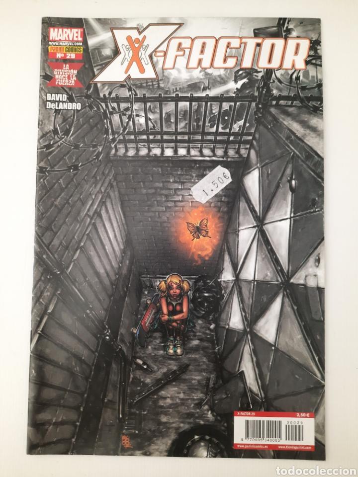X-FACTOR 29 - LA DIVISION HACE LA FUERZA - GRAPA MARVEL PANINI - VER FOTOS (Tebeos y Comics - Panini - Marvel Comic)
