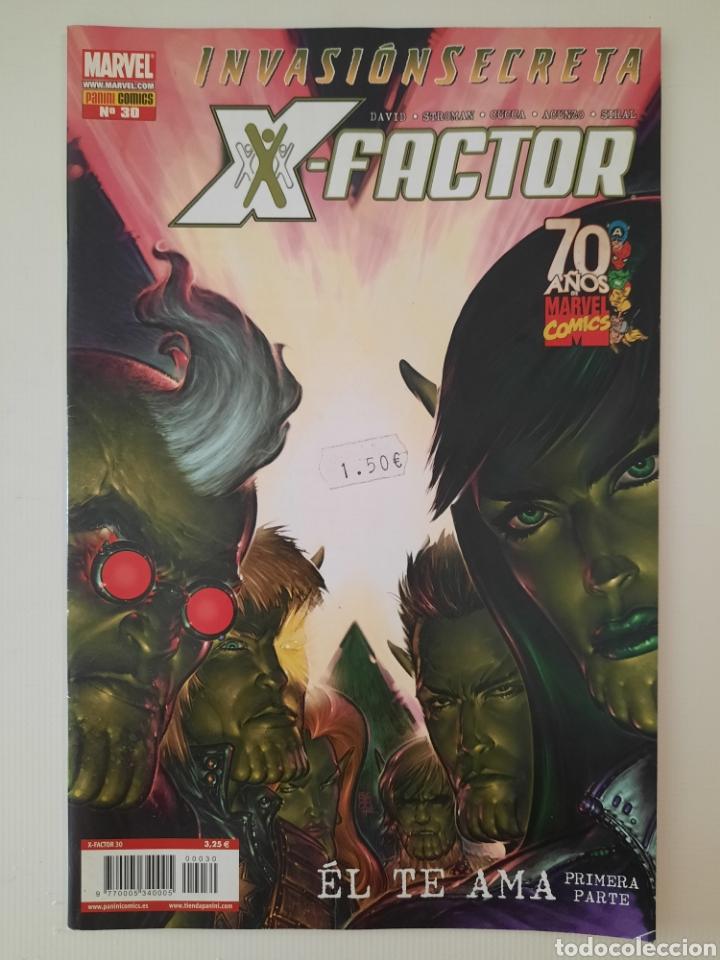 X-FACTOR 30 - INVASIÓN SECRETA - GRAPA MARVEL PANINI - VER FOTOS (Tebeos y Comics - Panini - Marvel Comic)