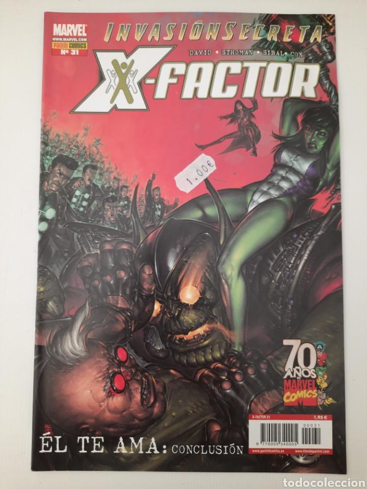 X-FACTOR 31 - INVASIÓN SECRETA - GRAPA MARVEL PANINI - VER FOTOS (Tebeos y Comics - Panini - Marvel Comic)