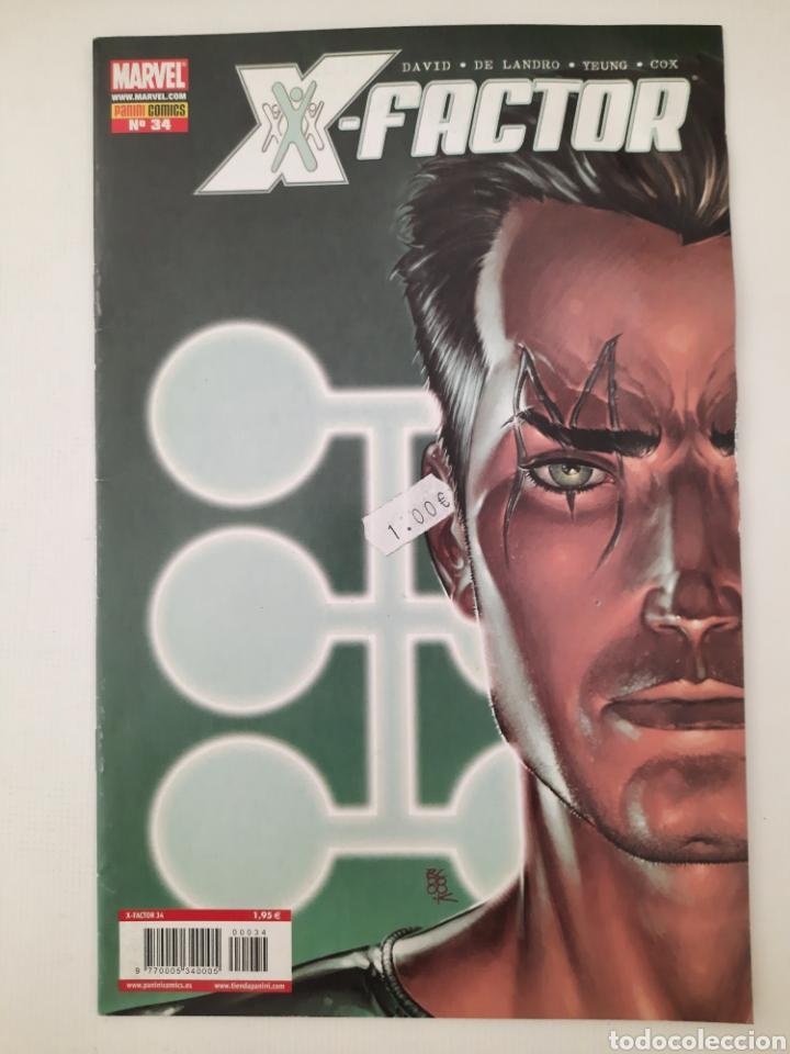 X-FACTOR 34 - PETER DAVID - GRAPA MARVEL PANINI - VER FOTOS (Tebeos y Comics - Panini - Marvel Comic)