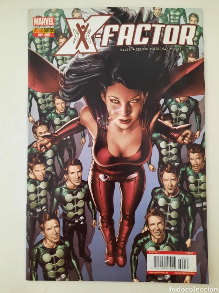 X-FACTOR 35 - PETER DAVID - GRAPA MARVEL PANINI - VER FOTOS (Tebeos y Comics - Panini - Marvel Comic)