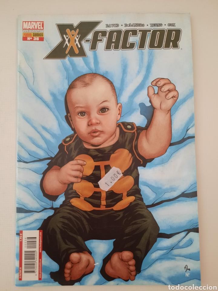 X-FACTOR 36 - PETER DAVID - GRAPA MARVEL PANINI - VER FOTOS (Tebeos y Comics - Panini - Marvel Comic)
