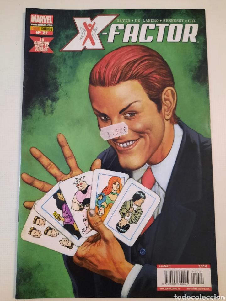X-FACTOR 27 - LA DIVISION HACE LA FUERZA - GRAPA MARVEL PANINI - VER FOTOS (Tebeos y Comics - Panini - Marvel Comic)