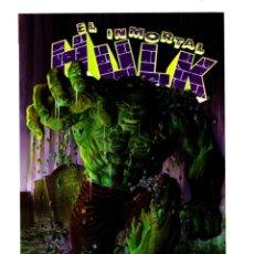 Fumetti: EL INMORTAL HULK 1 - PANINI / MARVEL PREMIERE / RUSTICA. Lote 287996968