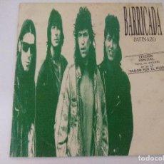 Cómics: BARRICADA/PATINAZO/SINGLE EDICION ESPECIAL NO INCLUIDO EN LP.. Lote 288056513