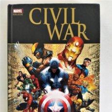 Cómics: CIVIL WAR (MARK MILLAR & STEVE MCNIVEN) - MARVEL DELUXE ~ MARVEL / PANINI (2010). Lote 288090038