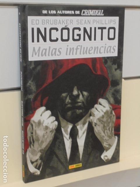 INCOGNITO Nº 2 MALAS INFLUENCIAS ED BRUBAKER TOMO CARTONÉ - PANINI OFERTA (Tebeos y Comics - Panini - Otros)