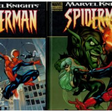 Cómics: MARVEL KNIGHTS - SPIDERMAN - NÚMEROS 1 Y 2. PANINI. NUEVOS.. Lote 288092248