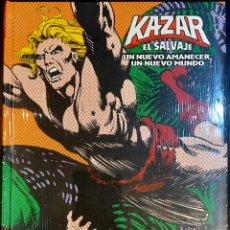 Cómics: KA-ZAR EL SALVAJE.UN NUEVO AMANECER (MARVEL LIMITED EDITION). Lote 288133563