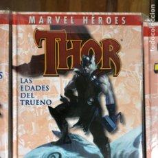 Cómics: THOR TOMO LAS EDADES DEL TRUENO (MARVEL HEROES) DE KIOSKO. Lote 288142553