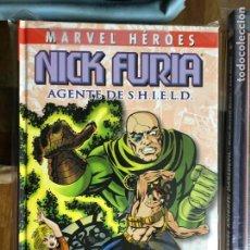 Cómics: NICK FURIA TOMO AGENTE DE SHIELD (MARVEL HEROES) DE KIOSKO. Lote 288143178