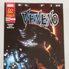 Cómics: VENENO VOL 2 Nº 42 : ESPECIAL EL FIN / MARVEL - PANINI. Lote 288163643