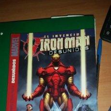 Cómics: IRON MAN: DESUNIDOS - TOMO - PANINI - DESCUENTO 20%¡¡¡. Lote 248940545