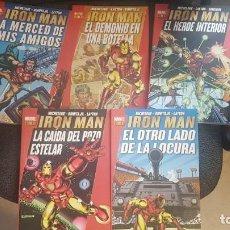 Cómics: MARVEL GOLD: IRON MAN (5 TOMOS) - PANINI. Lote 288374978