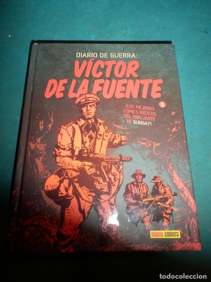 DIARIO DE GUERRA 1 - CÓMIC DE VÍCTOR DE LA FUENTE - PANINI 2009 (Tebeos y Comics - Panini - Otros)
