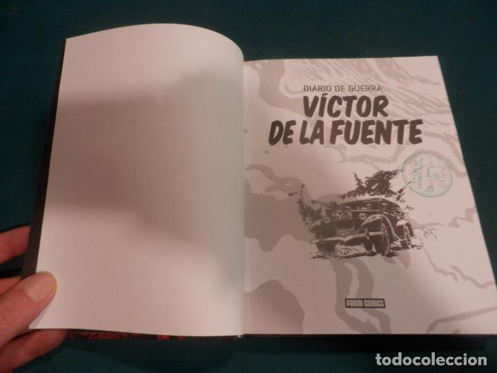 Cómics: DIARIO DE GUERRA 1 - CÓMIC DE VÍCTOR DE LA FUENTE - PANINI 2009 - Foto 3 - 288446658