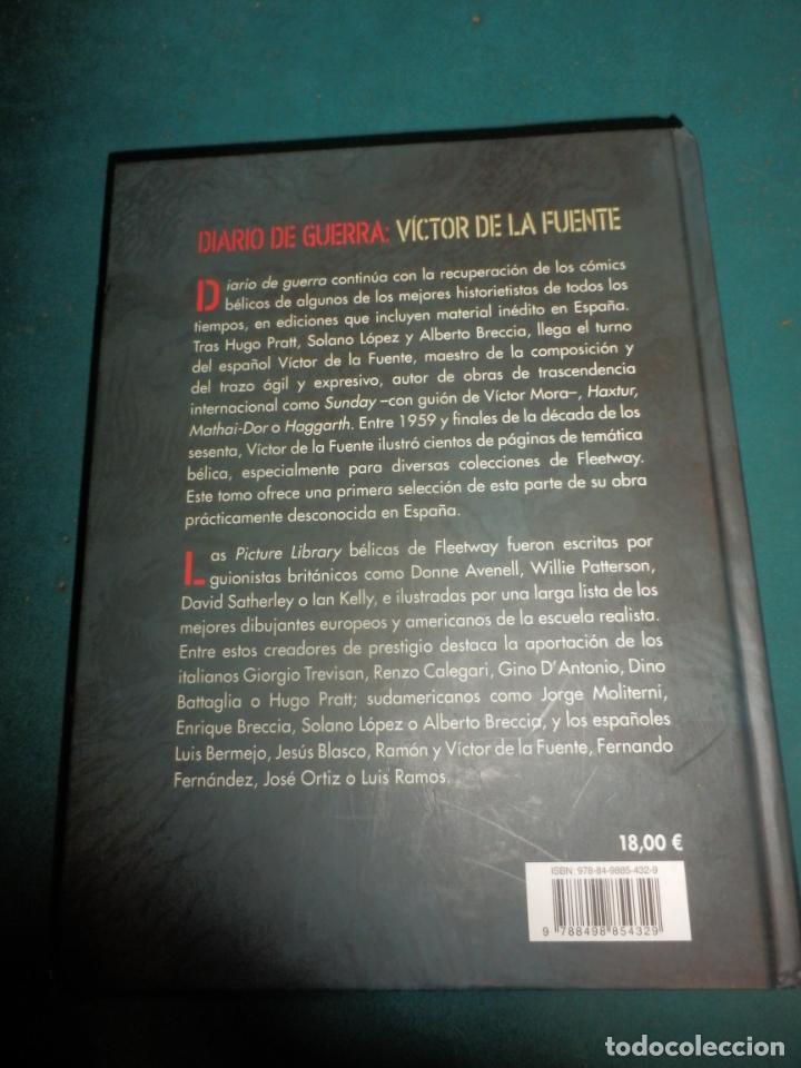 Cómics: DIARIO DE GUERRA 1 - CÓMIC DE VÍCTOR DE LA FUENTE - PANINI 2009 - Foto 6 - 288446658