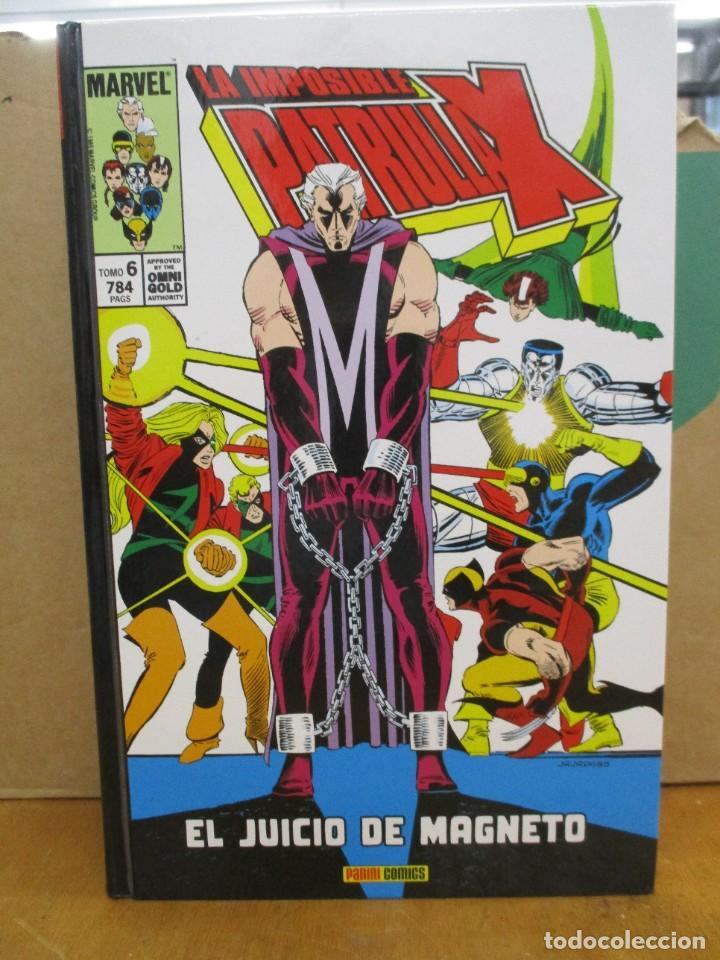 LA IMPOSIBLE PATRULLA X - OMNIGOLD - TOMO 6 - EL JUICIO DE MAGNETO - MARVEL / PANINI (Tebeos y Comics - Panini - Marvel Comic)