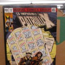 Cómics: LA IMPOSIBLE PATRULLA X - OMNIGOLD - TOMO 2 - DIAS DEL FUTURO PASADO - MARVEL GOLD / PANINI. Lote 288531093