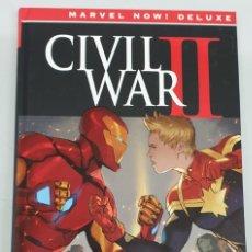 Cómics: CIVIL WAR II - INTEGRAL / BRIAN MICHAEL BENDIS - MARVEL NOW DELUXE / PANINI. Lote 288685083