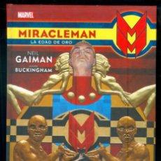 Cómics: NUMULITE *4 MIRACLEMAN LA EDAD DE ORO MARVEL NEIL GAIMAN MARK BUCKINGHAM. Lote 288719013