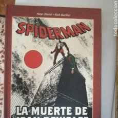 Cómics: SPIDERMAN LA MUERTE DE JEAN DEWOLF BEST OF MARVEL. Lote 288926828