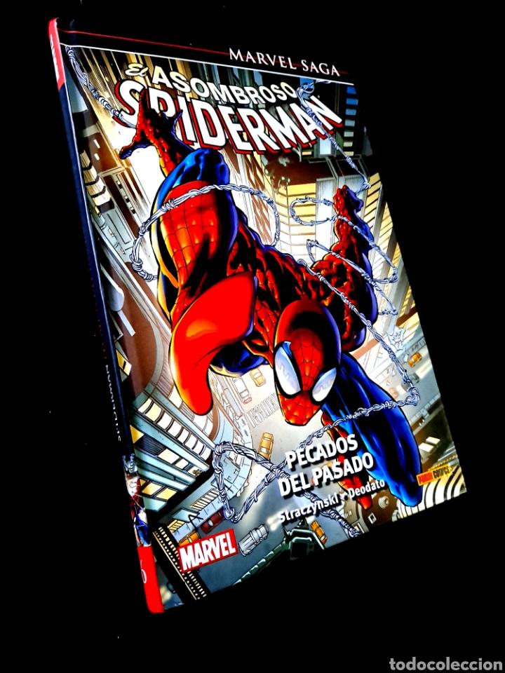CASI EXCELENTE ESTADO MARVEL SAGA EL ASOMBROSO SPIDERMAN 6 PECADOS DEL PASADO COMICS PANINI (Tebeos y Comics - Panini - Marvel Comic)