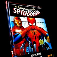 Cómics: MUY BUEN ESTADO MARVEL SAGA EL ASOMBROSO SPIDERMAN 11 CIVIL WAR COMICS PANINI. Lote 289223518