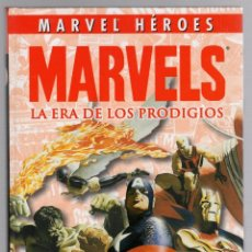 Cómics: MARVELS LA ERA DE LOS PRODIGIOS. MARVEL HEROES. PANINI, 2010. Lote 289295703