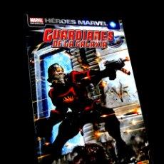 Cómics: EXCELENTE ESTADO GUARDIANES DE LA GALAXIA 2 HEROES MARVEL COMICS PANINI. Lote 289427568