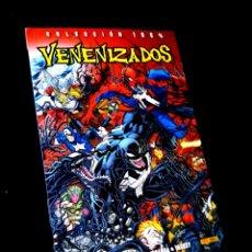 Cómics: CASI EXCELENTE ESTADO VENENIZADOS COLECCION 100 % COMICS PANINI MARVEL. Lote 289428023