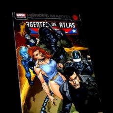 Cómics: CASI EXCELENTE ESTADO AGENTES DE ATLAS HEROES MARVEL COMICS PANINI. Lote 289430918