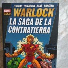 Cómics: WARLOCK. LA SAGA DE LA CONTRATIERRA (MARVEL GOLD). Lote 289768763