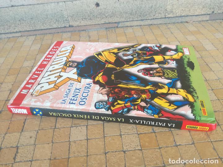 Cómics: MARVEL HEROES. Nº 4. LA PATRULLA-X. LA SAGA DE FÉNIX OSCURA. PANINI 1980 - Foto 2 - 289769573