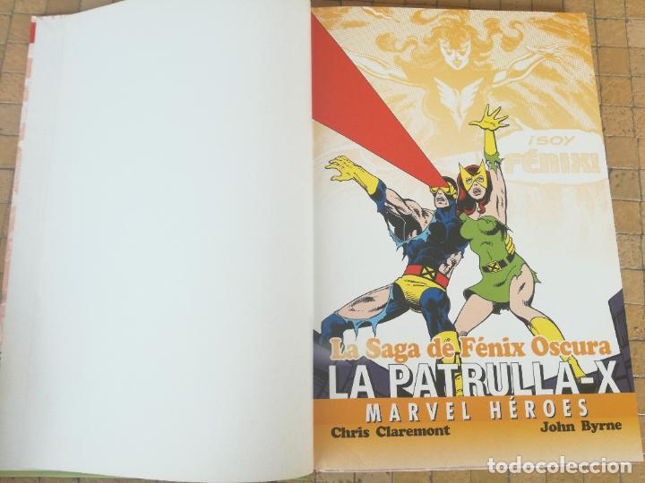 Cómics: MARVEL HEROES. Nº 4. LA PATRULLA-X. LA SAGA DE FÉNIX OSCURA. PANINI 1980 - Foto 3 - 289769573