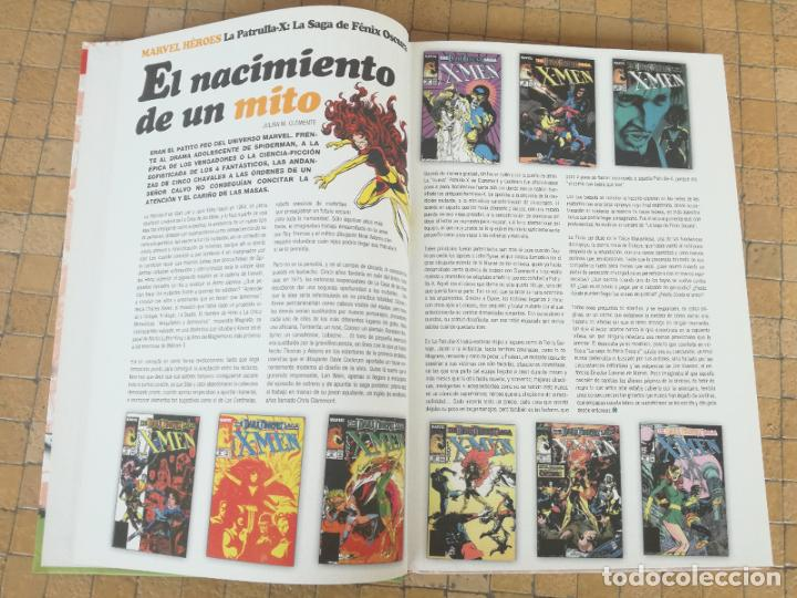 Cómics: MARVEL HEROES. Nº 4. LA PATRULLA-X. LA SAGA DE FÉNIX OSCURA. PANINI 1980 - Foto 5 - 289769573