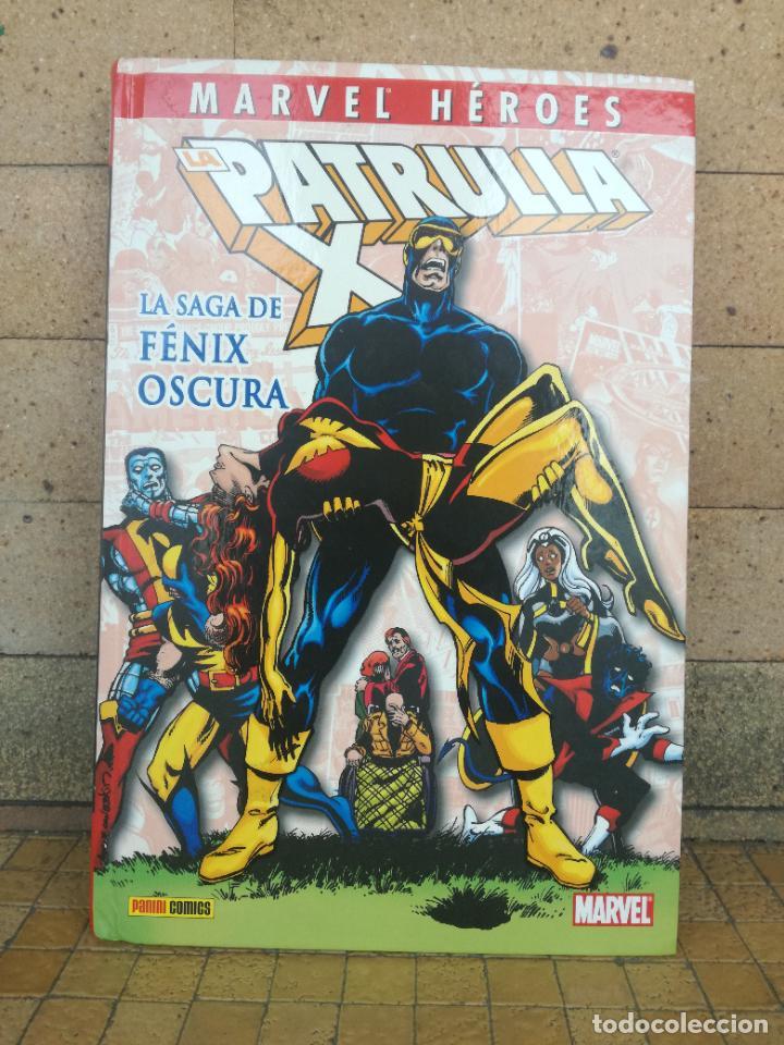 MARVEL HEROES. Nº 4. LA PATRULLA-X. LA SAGA DE FÉNIX OSCURA. PANINI 1980 (Tebeos y Comics - Panini - Marvel Comic)
