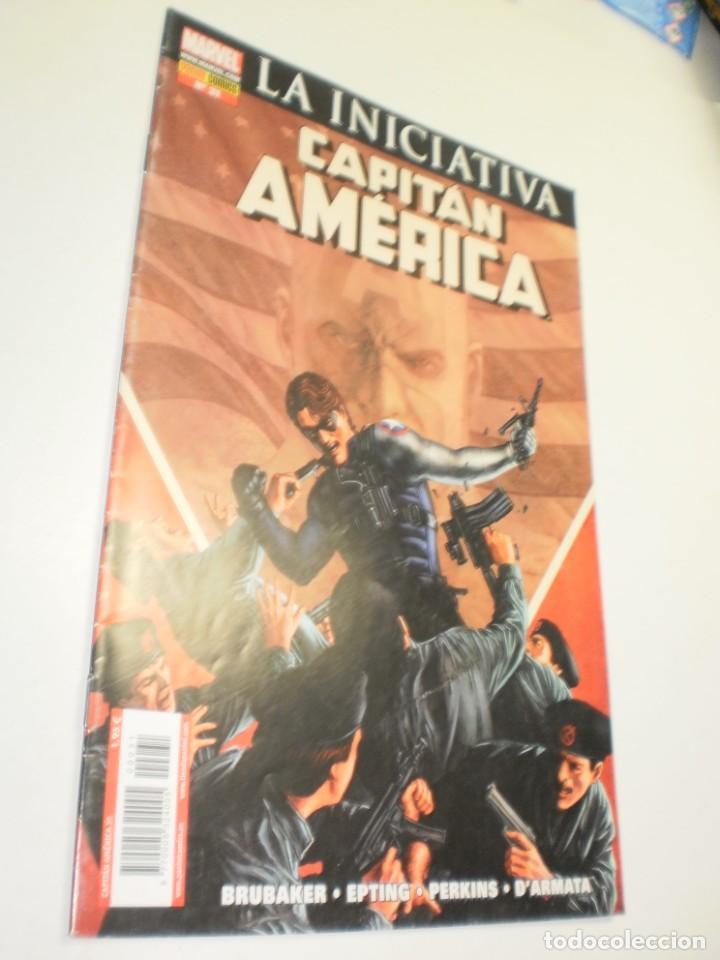 CAPITÁN AMÉRICA Nº 31 LA INICIATIVA. PANINI 2008 (SEMINUEVO) (Tebeos y Comics - Panini - Marvel Comic)