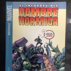 Cómics: EL INCORREGIBLE HOMBRE HORMIGA N.1 ESCORIA ( 2008 ). Lote 289829153