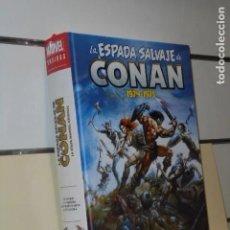 Cómics: LA ESPADA SALVAJE DE CONAN 1974 1975 OMNIBUS VOLUMEN 1 PANINI MARVEL LIMITED EDITION MLE NO FORUM. Lote 290106088