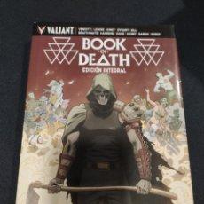 Fumetti: BOOK OF DEATH, EDICIÓN INTEGRAL LUJO VALIANT. Lote 292112313
