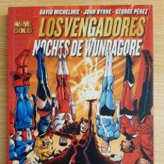 Fumetti: MARVEL GOLD - LOS VENGADORES: NOCHES DE WUNDAGORE - PANINI. Lote 293194048