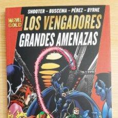 Fumetti: MARVEL GOLD - LOS VENGADORES: GRANDES AMENAZAS - PANINI. Lote 293194398