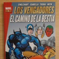 Fumetti: MARVEL GOLD - LOS VENGADORES: EL CAMINO DE LA BESTIA - PANINI. Lote 293196113