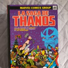 Cómics: MARVEL OMNIGOLD, LA SAGA DE THANOS. Lote 293204668