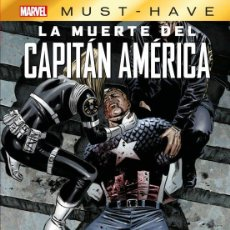 Cómics: MARVEL MUST-HAVE. LA MUERTE DEL CAPITAN AMERICA. Lote 293763178