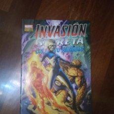 Cómics: INVASION SECRETA LOS 4 FANTASTICOS. Lote 295277308