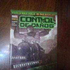 Cómics: WORLD WAR HULK EL DIA DESPUES CONTROL DE DAÑOS. Lote 295277313