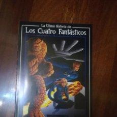 Cómics: LA ULTIMA HISTORIA DE LOS CUATRO FANTASTICOS. Lote 295277318